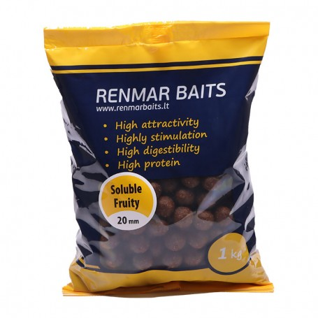 Tirpstantys boiliai RENMAR BAITS SOLUBLE FRUITY