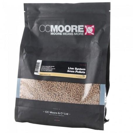 CCMOORE Live System Pellets 1 kg