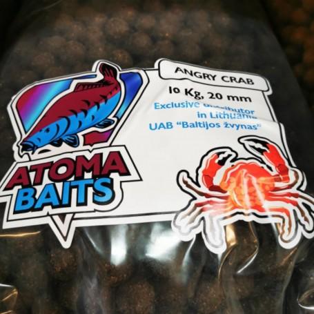 Šeriaminiai boiliai ATOMA BAITS Angry Crab