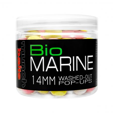 Plaukiantys boiliai Munch baits Bio Marine washed out Pop-ups