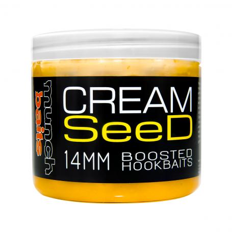 Boiliai Munch baits Cream seed boosted hookbaits