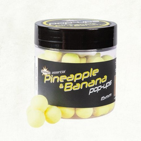 Dynamite Pineapple & Banana Fluro Pop-ups